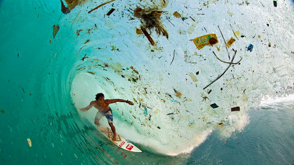Indonesia's plastic waste reality. Via Huffington Post.