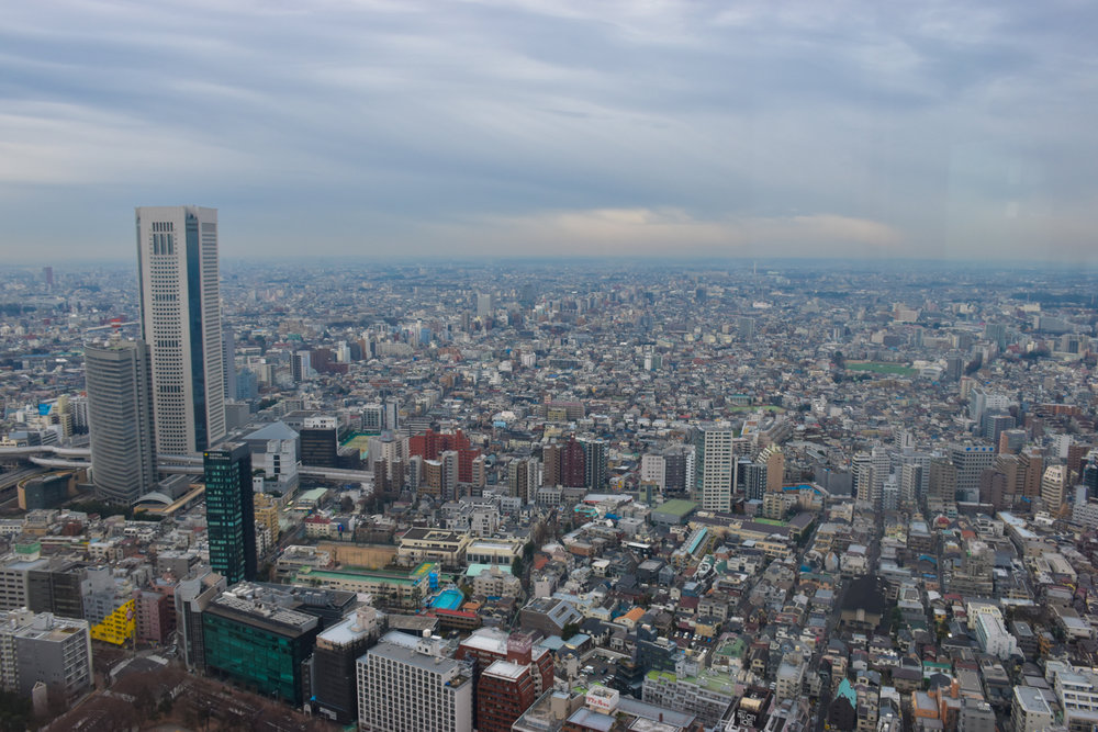 Tokyo, always an action packed yet short visit. Pic: Angie Davis