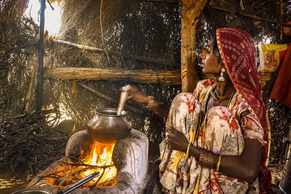 Indian Woman Rajasthan