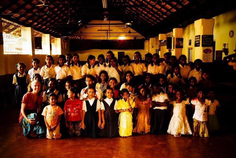 Girl's Orphanage, India, 2008