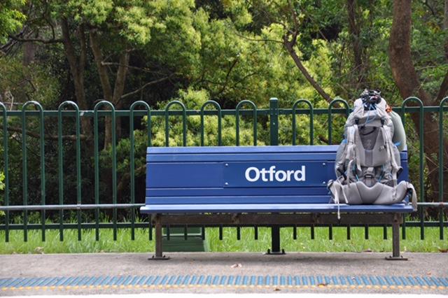 Otford station, Govinda Valley Retreat centre