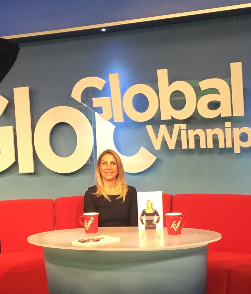 Global News Winnipeg  - Author Jane Stoller discusses her book and getting ready for Spring 2018Watch here