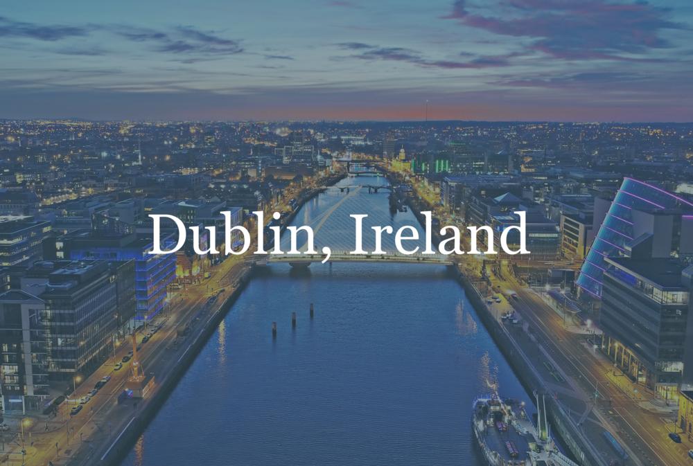 April 18-19 Focus:  AI & Big Data  Dublin Tech Summit