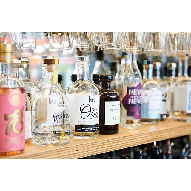 Such a solid range of gins @prohibitionliquor 🍸 as well as having a great range themselves, they support a flock of other great small producers. The team went out of their way to look after us, and we can't wait to head back.  #aperitivo
