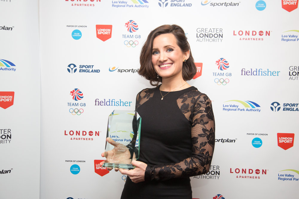 Coach of the Year Winner Charlotte Evans 2016.jpg