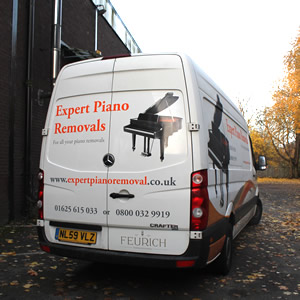 Sheffield Pianos Transport