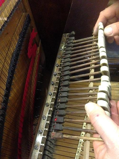 Sheffield Pianos Action Rebuilding