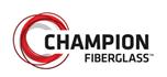 champion fiberglass logo