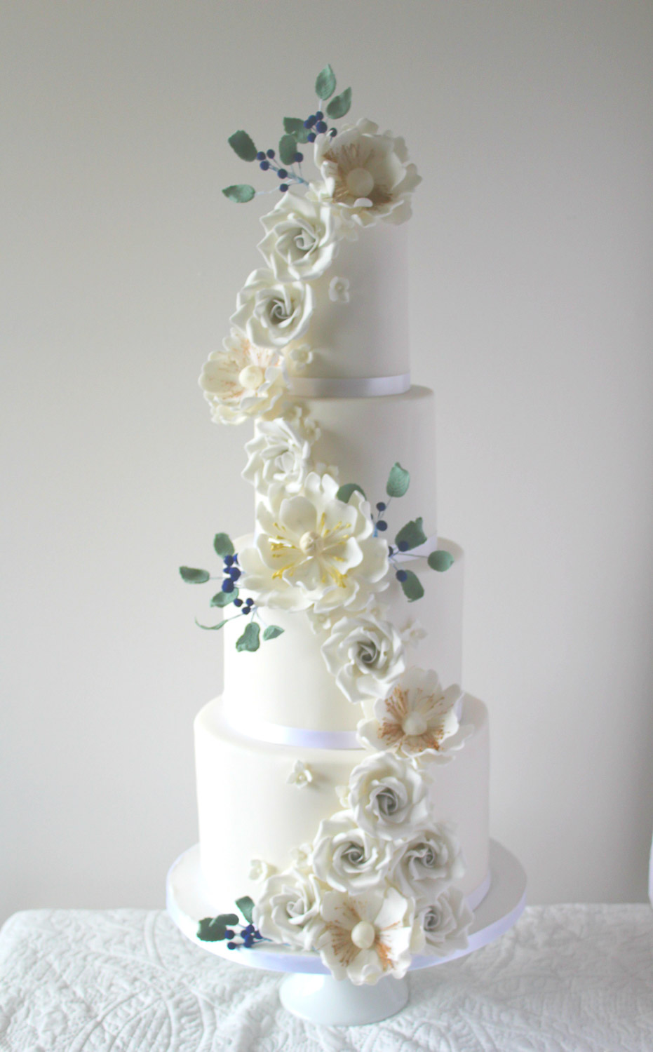 Rosewood Wedding Cakes | Artistic & Elegant Wedding Cakes | Glasgow ...