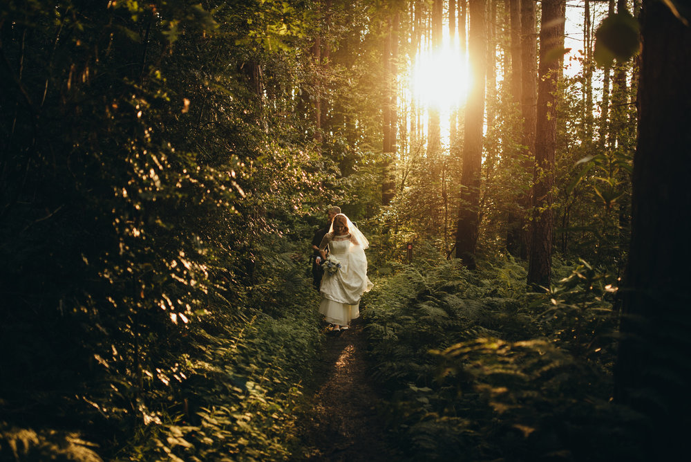 Forest Wedding - Rosewood Cakes Luxury Wedding Cakes Glasgow Scotland