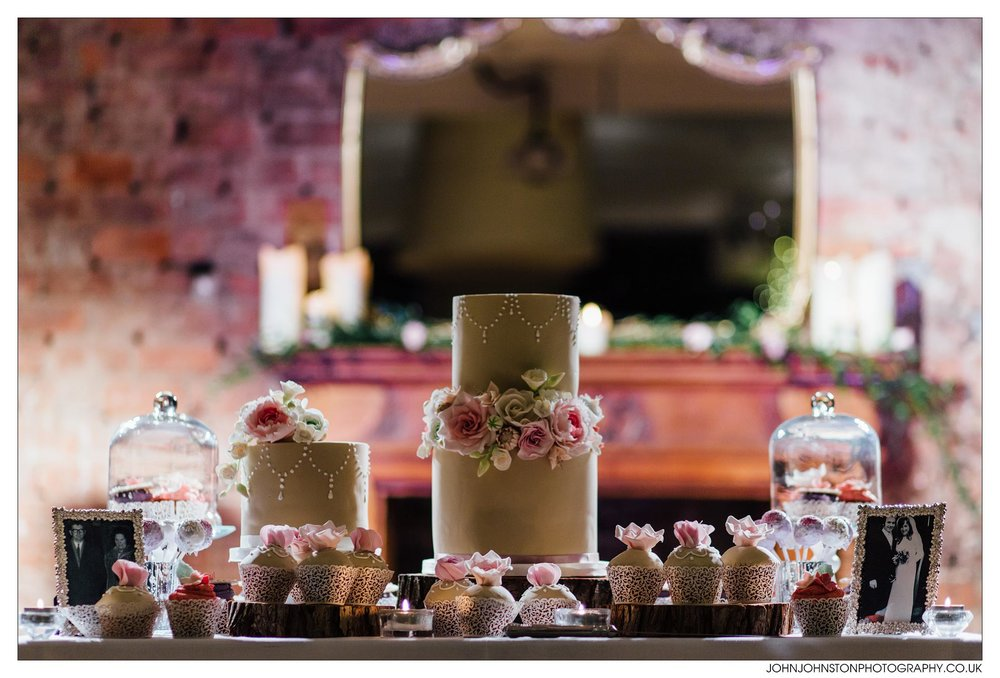 dessert table - rosewood cakes glasgow