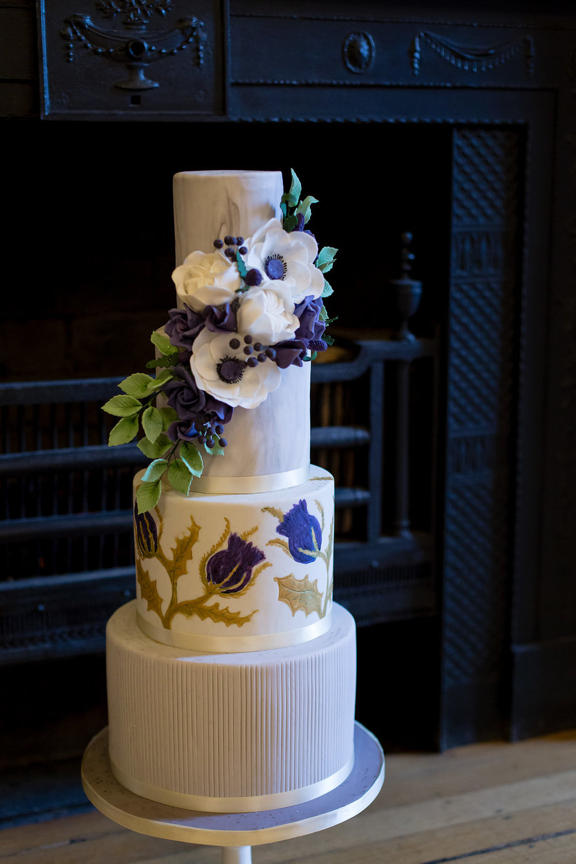 Wedding cakes to Glasgow Loch Lomond Ayrshire Borders