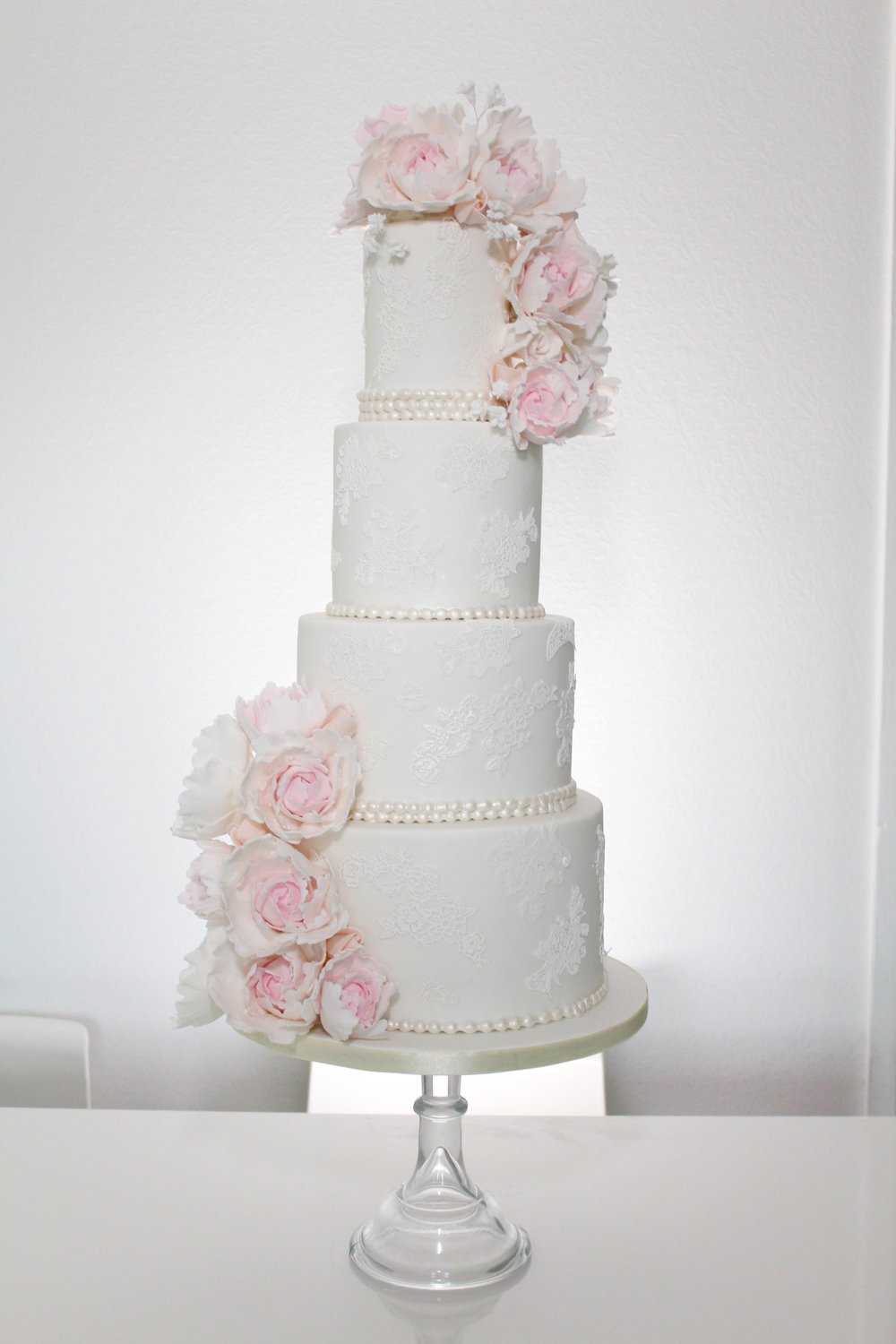blush peony cascade - boclair house weddings - rosewood cakes luxury beautiful amazing wedding cakes glasgow scotland.jpg