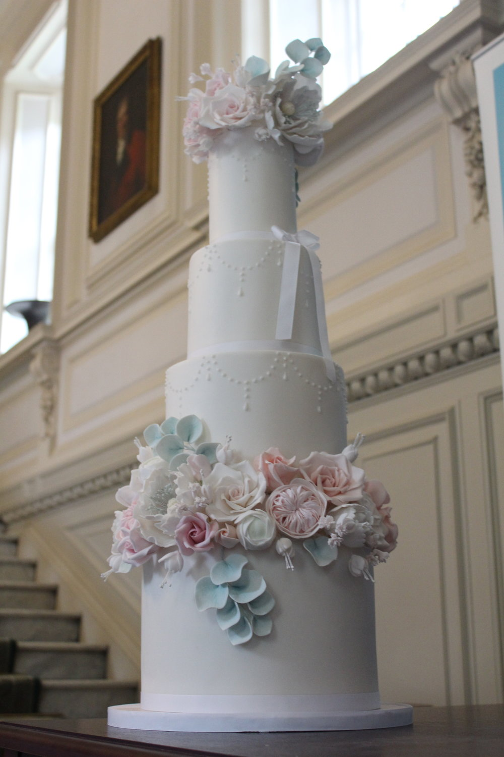 pollok house weddings 2 - dusky lush florals - rosewood cakes beautiful wedding cakes glasgow scotland.jpg