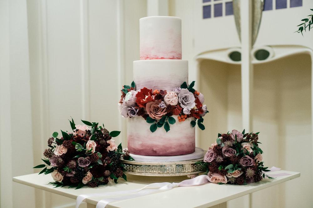 hfal watercolour autumn - rosewood cakes luxury wedding cakes glasgow scotland.jpg