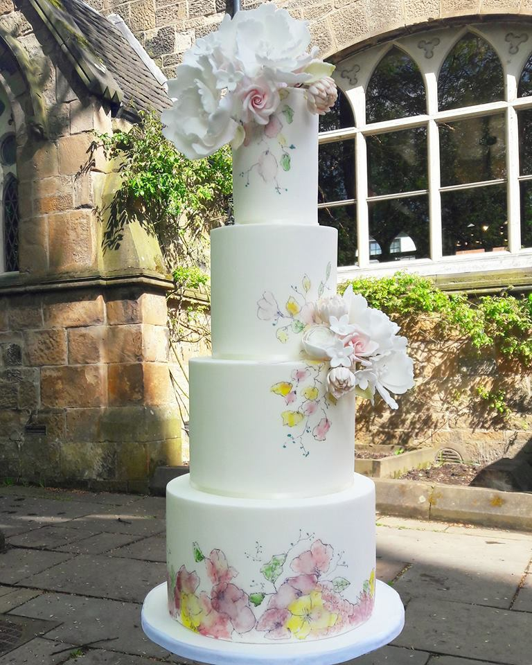 rosewood wedding cakes - beautiful luxury wedding cakes glasgow scotland