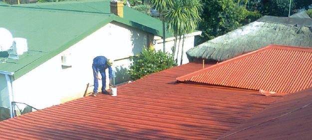 our roof painting services include - New roof paintingRoof revamps & repairs/touch upsAirless roof spraying