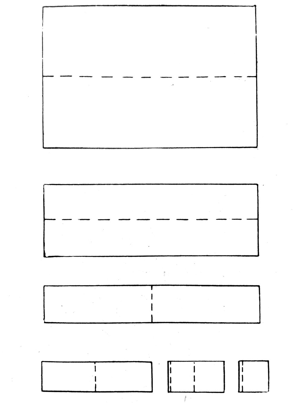 Het vouwen van tafellakens 1930 | 2017