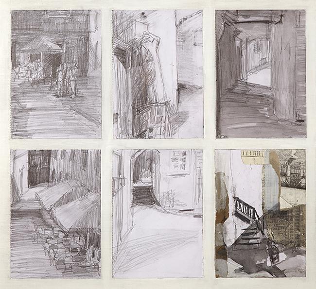 Alison Stewart Vodnjan Sketchbook