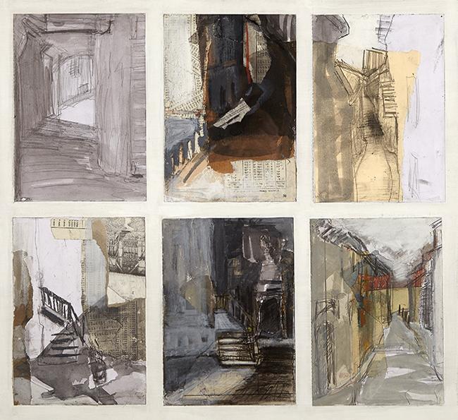 Alison Stewart Artist sketchbook