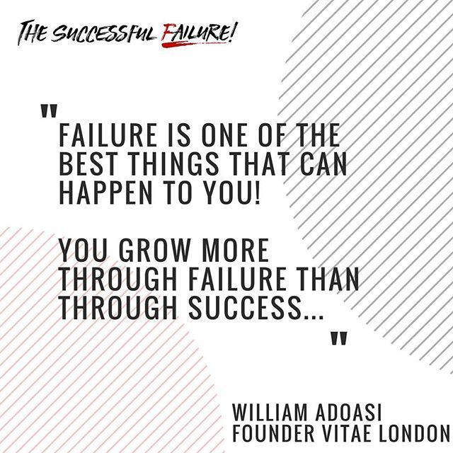 What are your thoughts? @vitaelondon #successfulfailure #failure #fucksuccess