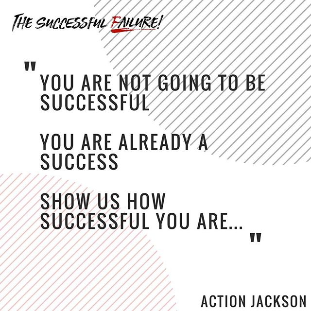 People are so caught up in the idea of success. Why not just live your life to the fullest? @actionjacksonlive #fucksuccess