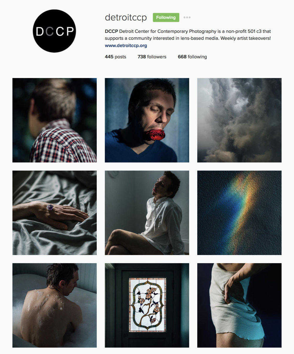 It was a pleasure posting this past week for Detroit Center for Contemporary Photograpy! Make sure to follow their account for weekly artist take-overs! Also, head over to their website to brouse portfolios!