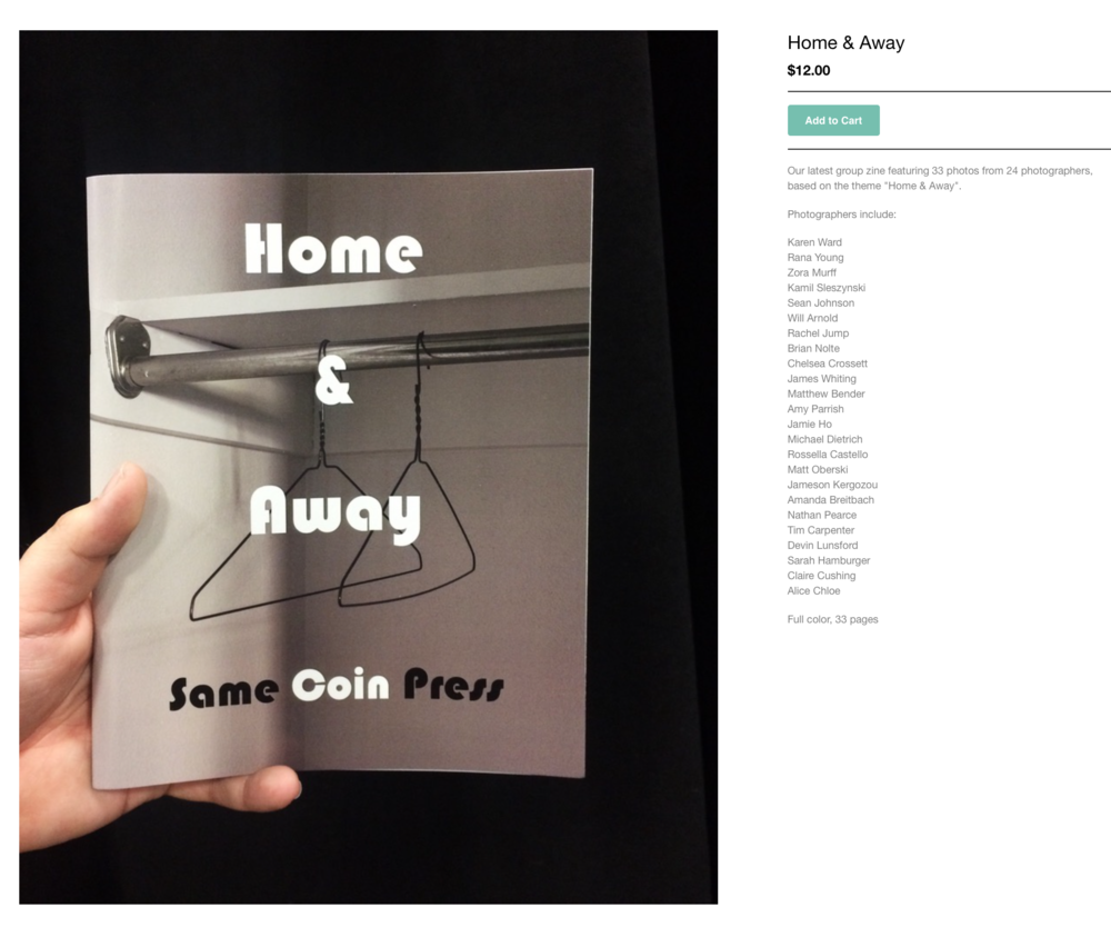So excited to be included in another zine by Same Coin Press! Pick up your copy  here .