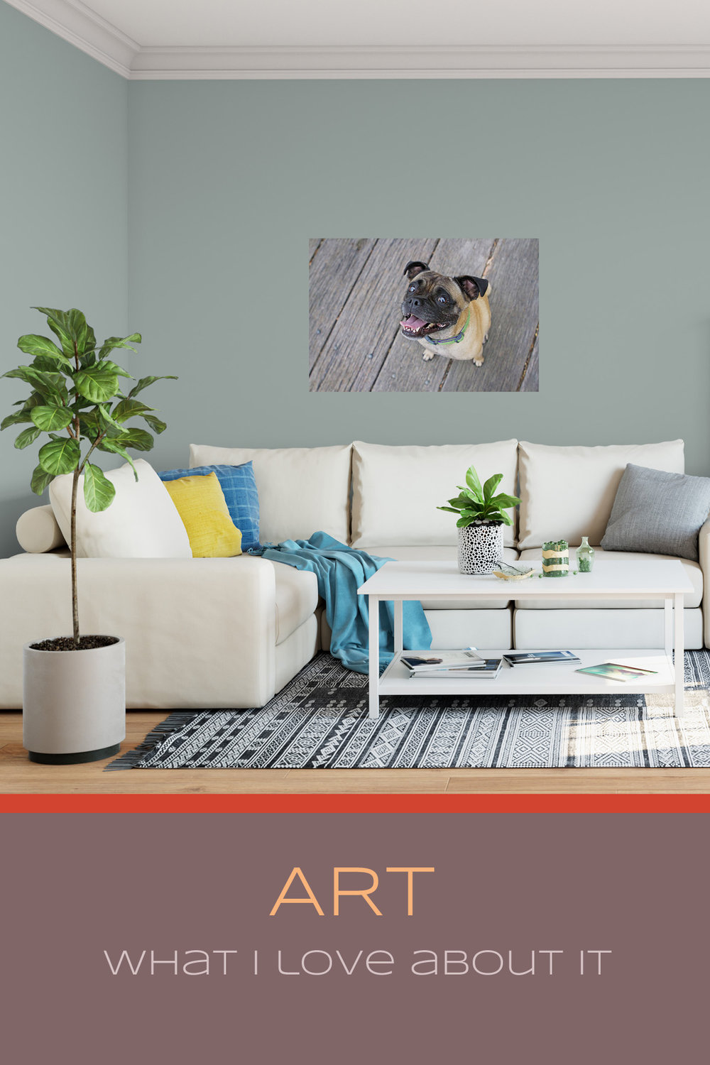Art - What I Love About It | Sydney Pet Photographer