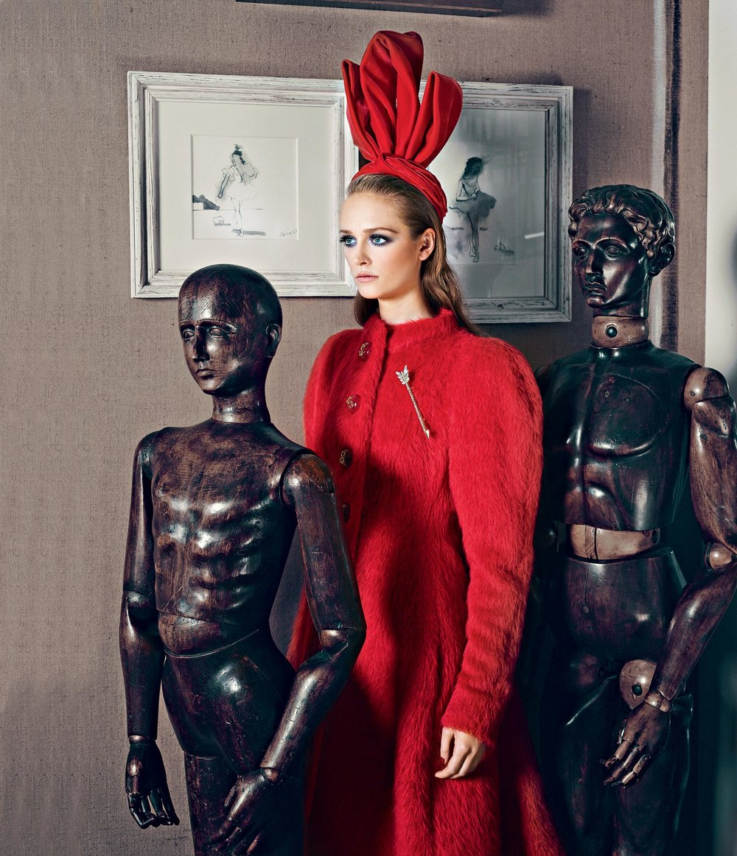 Schiaparelli Maison/2014 Collection Harper's Bazaar Polska