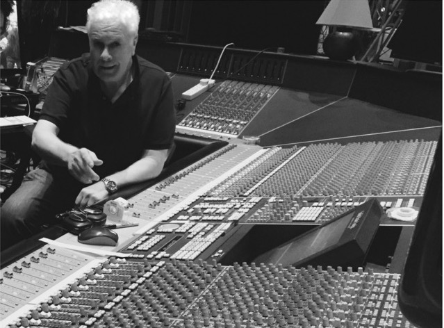Steve at Real World Studios, Wiltshire 2016