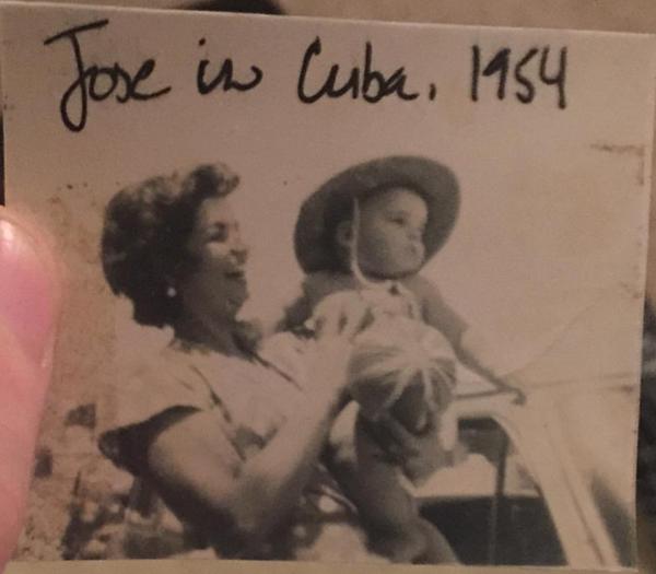 Jose in Cuba, 1954