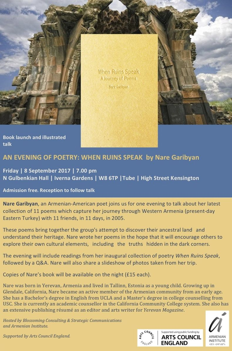 When Ruins Speak: An Evening of Poetry
