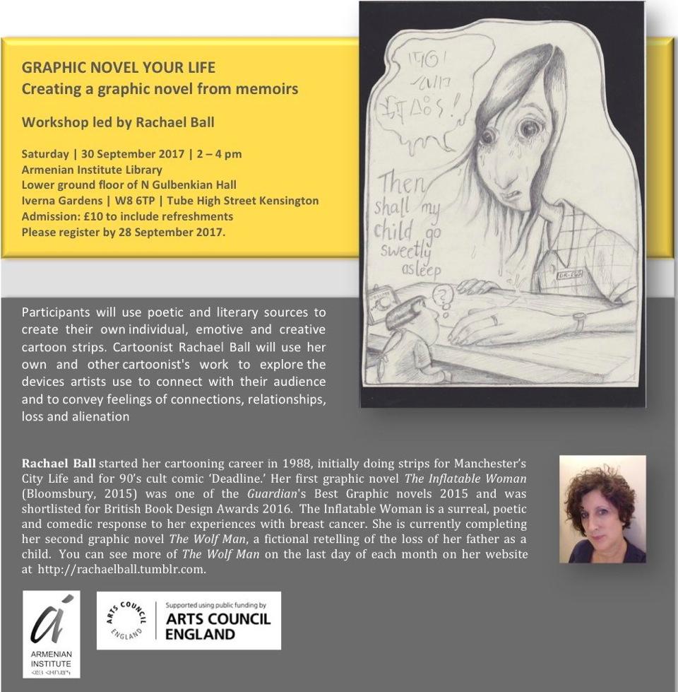 Graphic Novel Your Life Workshop