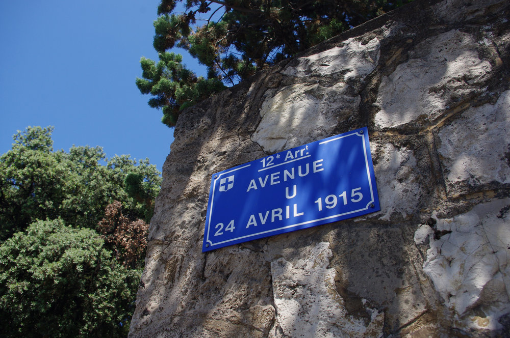 Avenue du 24 avril 1915 dans le quartier de Beaumont.