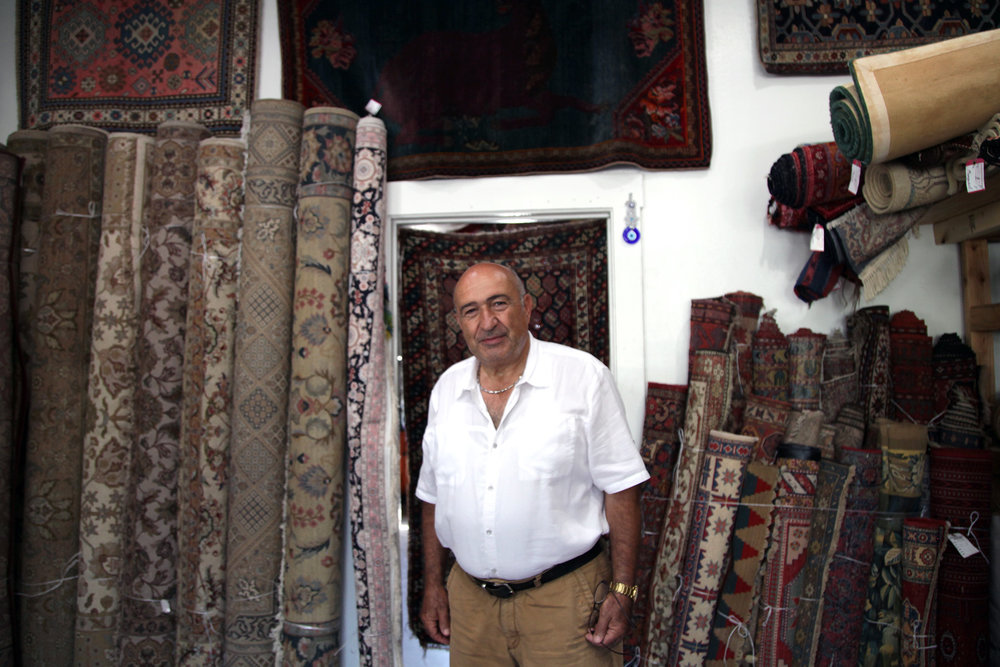 Andy, Owner of Pasadena Oriental Rug Company