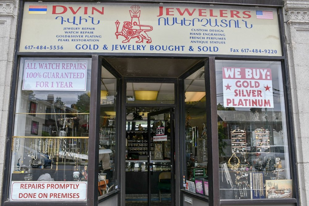 Dvin Jewelers in Watertown.