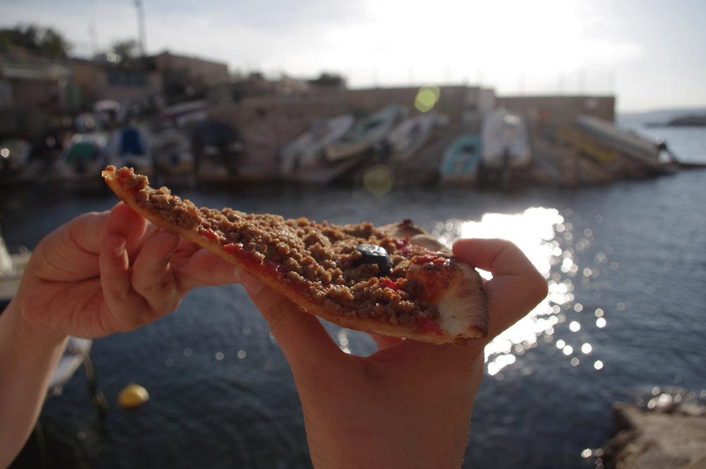 "Pizza marseillaise dite ""pizza arménienne"""