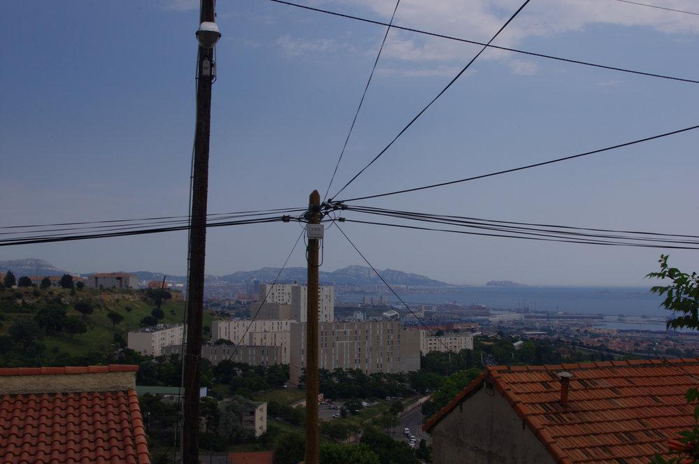 Vue sur Marseille depuis l'église Surp Garabet dans le quartier de Saint-Antoine