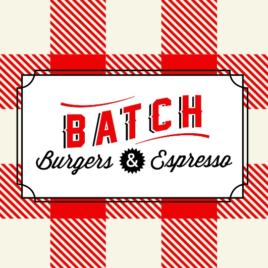 Batch Burger & Espresso Logo Brand