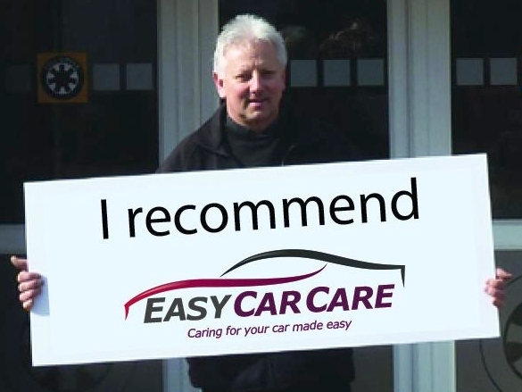 Steve, owner of Full Circle Services in High Wycombe, is proud to be a selected Partner Garage of the EasyCarCare Network