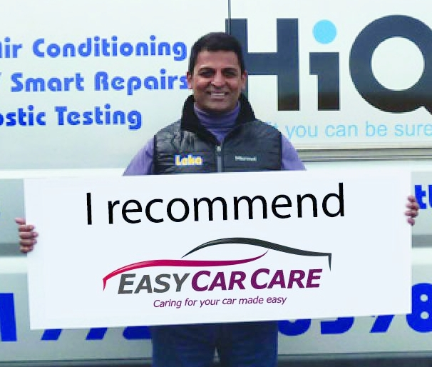 Hanif, the owner of Leka FastFit Centre, in Cheshunt, is proud to be a selected Partner Garage of the EasyCarCare Network