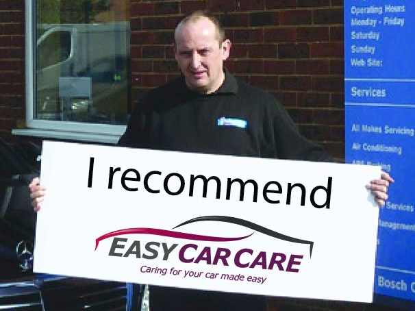 Lee, owner of Prestwood Motors in Great Missenden, is proud to be a selected Partner Garage of the EasyCarCare Network