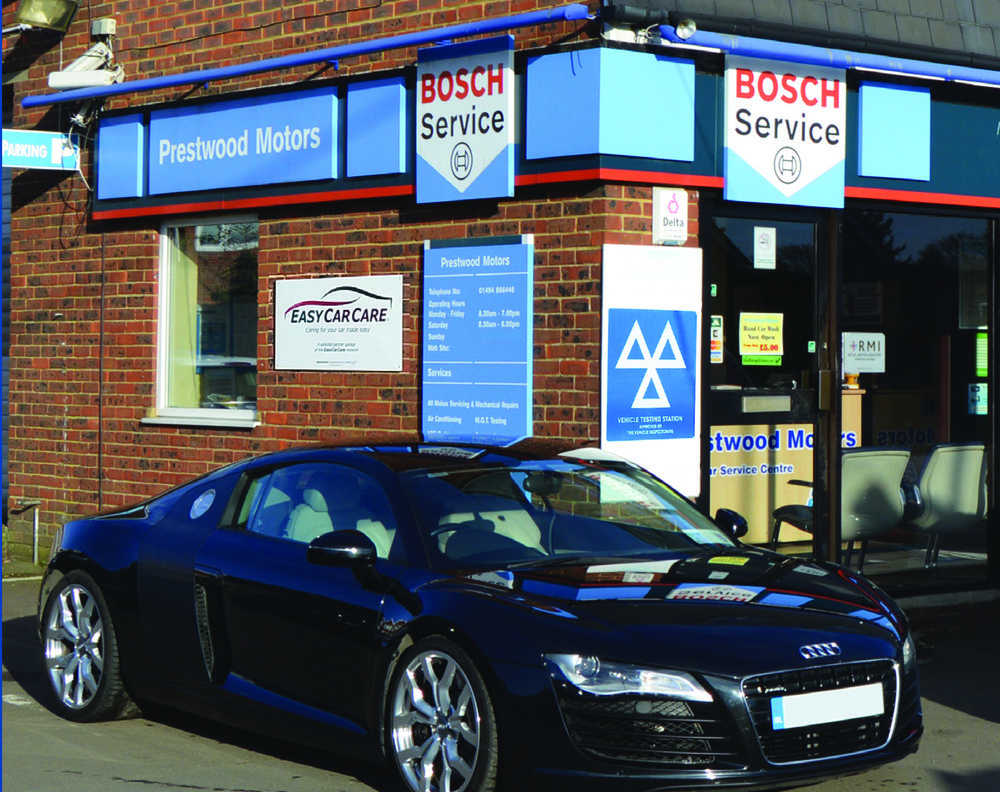 Prestwood Motors in Great Missenden is proud to be a selected Partner Garage of the EasyCarCare Network