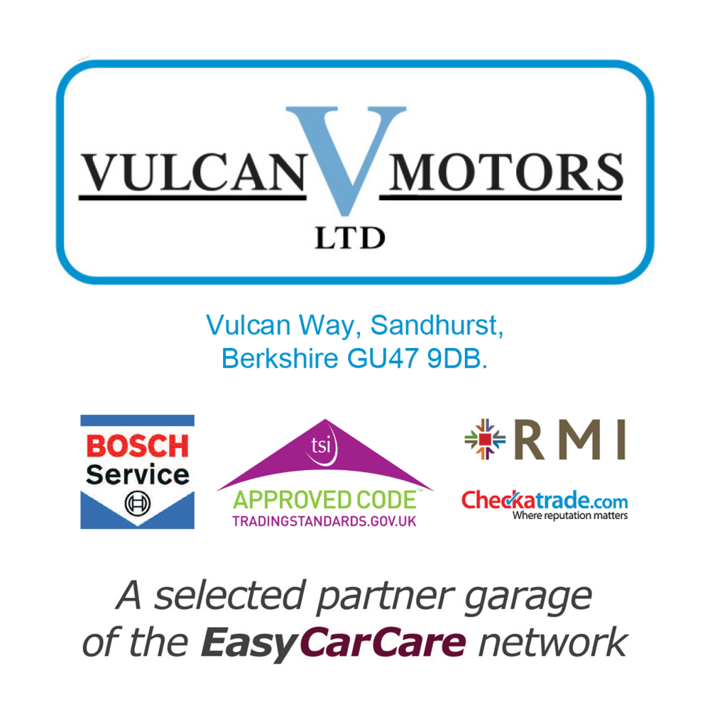 Vulcan Motors is proud to be a selected Partner Garage of the EasyCarCare Network