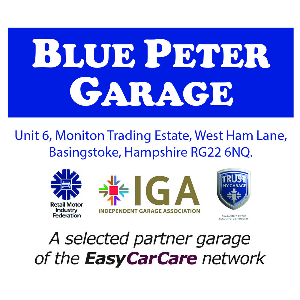 Blue Peter Garage is proud to be a selected Partner Garage of the EasyCarCare Network