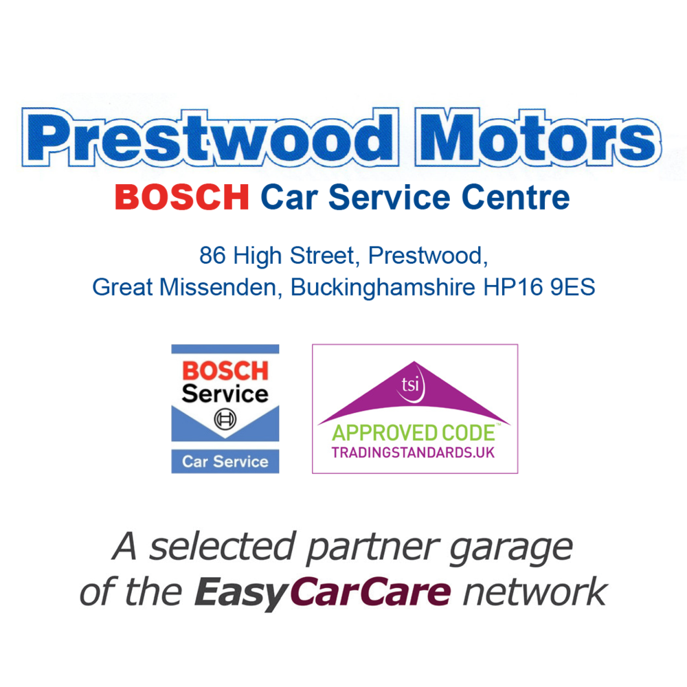 Prestwood Motors are proud to be a selected Partner Garage of the EasyCarCare Network