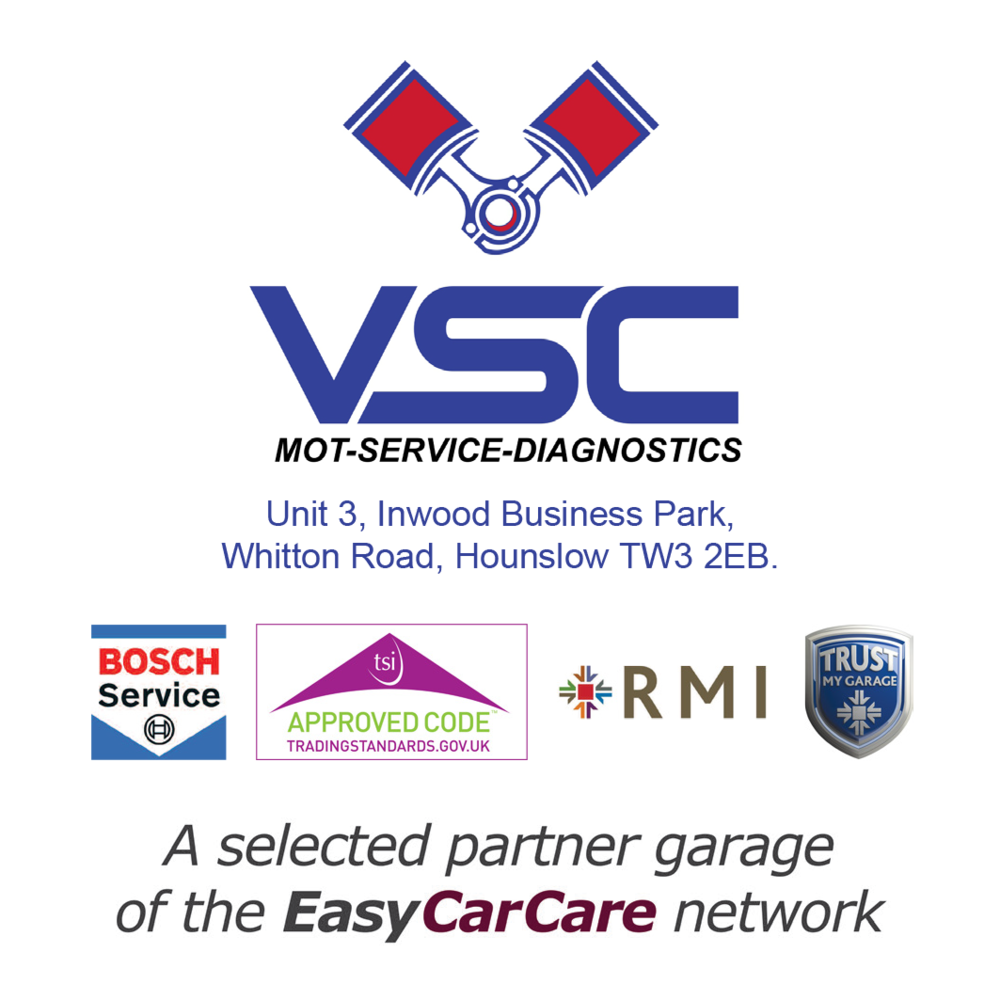 Vehicle Service Centre is proud to be a selected Partner Garage of the EasyCarCare Network