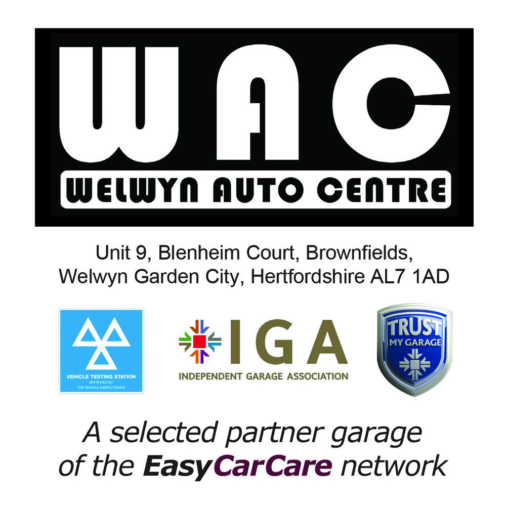 Welwyn Auto Centre is proud to be a selected Partner Garage of the EasyCarCare Network