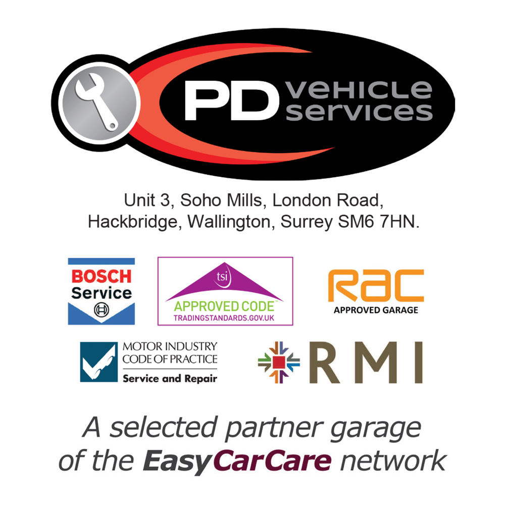 PD Vehicle Services is proud to be a selected Partner Garage of the EasyCarCare Network